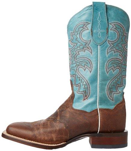 Dan Post Women's San Michelle Western Boot,Sand/Blue,7.5 M US by Dan Post Boot Company (Image #5)