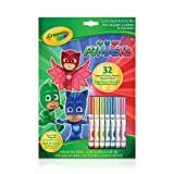 Crayola Crayola Colouring and Activity Pad, PJ Masks , Gift for Boys and Girls, Kids, Ages 3+, Summer Travel, Out of School Cottage Activties