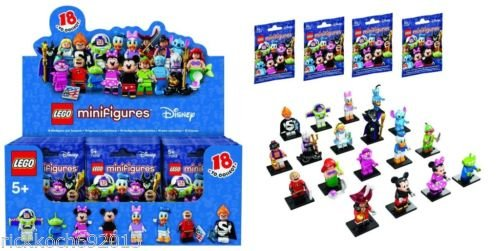 Complete Set Factory Sealed LEGO DISNEY MINI FIGURES 18 Characters series #71012 by LEGO