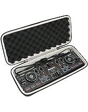 Khanka Hard Case Cover voor Numark DJ2GO2 - Ultra draagbare 2-kanaals DJ Controller voor Serato DJ Intro Etui Case. (alleen tas)