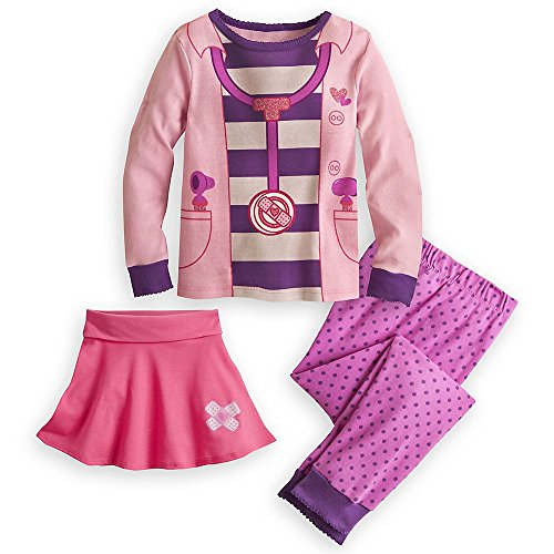 Disney Store Doc McStuffins Deluxe Costume PJ Pajamas Size Small 5 5T