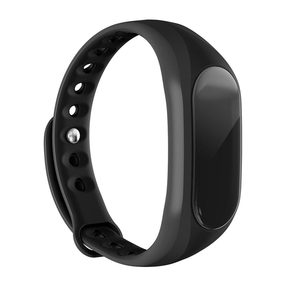 JTDEAL Bluetooth Inteligente Pulsera V4.0 Con Pantalla Táctil IP65 Impermeable Wristband Bracelet Inteligente Podómetro, Monitor de Sueño, Alarma, ...