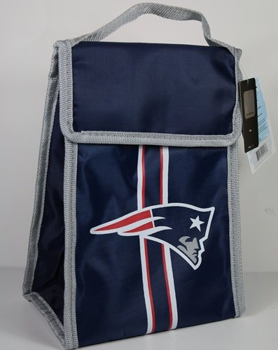 Bag Ncaa Insulated Lunch (New England Patriots Velcro Lunch Bag)