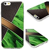 iPhone 6S Case, iPhone 6 Case Protective Soft Flexible TPU Cover Mooden Painting Shock Absorption Resistant Bumper Anti-Scratch Slim Shell Cute Skin for iPhone 6S / iPhone 6 Edauto - Green