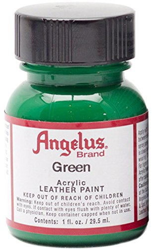 Angelus Acrylic Paints Color Green