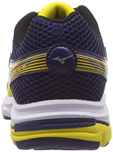 Mizuno Wave Legend 3, Men's Running Shoes Yellow - Gelb (Cyberyellow/Silver/Blue 73)