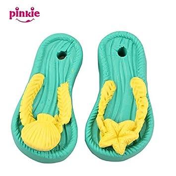 Pinkie - un par de sandalias con forma de jabón molde, molde de resina arcilla silicona, forma de jabón, salero Carving moho: Amazon.es: Hogar