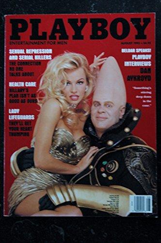 Playboy Magazine August 1993,Pamela Anderson (French) Paperback – January 1, 1993