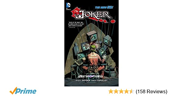 Amazon.com: The Joker: Death of the Family (The New 52 ...