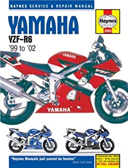 yamaha yzf r6 99 to 02 haynes service repair manual by ken rh amazon com 2013 Yamaha R6 2009 Yamaha R6