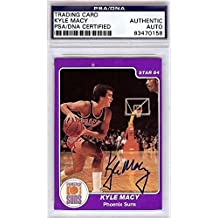 Kyle Macy Autographed Signed 1984 Star Card #114 Phoenix Suns #83470158 - PSA/DNA Certified - Basketball Autographed Cards