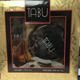 Tabu Spray Cologne 1.5 fl oz 45 ml / Dusting Powder 4 oz , 113 g set