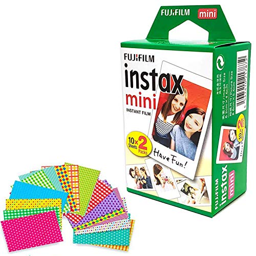 Fujifilm Instax Mini Instant Film (Twin Pack, 20 Total Pictures) + 20 Sticker Frames from DEALS NUMBER ONE