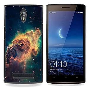 For Oppo Find 7 X9007 - Beautiful Space Galaxy /Modelo de la piel protectora de la cubierta del caso/ - Super Marley Shop -