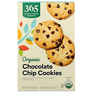 365 Everyday Value, Organic Chocolate Chip Cookies, 12 oz