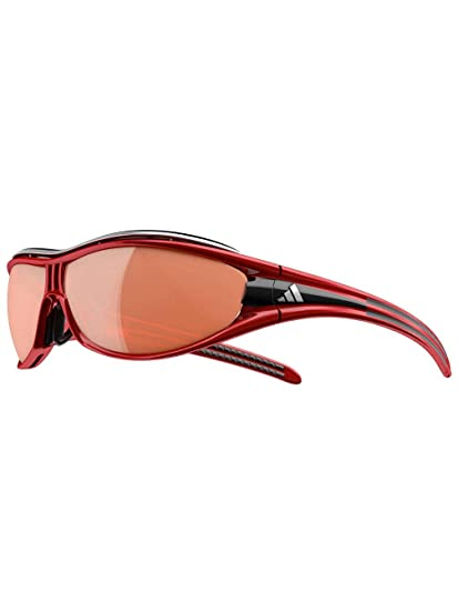 8df90615c933 Amazon.com: Adidas A127/00 6109 Red/Black Evil Eye Pro S Oval ...