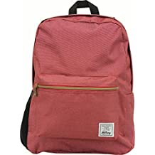 Hilroy Heritage York Backpack, 8 x 12-1/2 x 15-1/2 Inches, Red (89582)