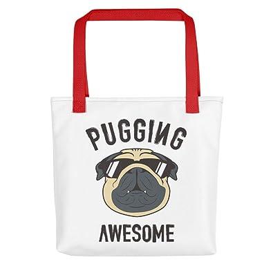 Amazon.com: Pugging - Bolso bandolera para ir de compras ...