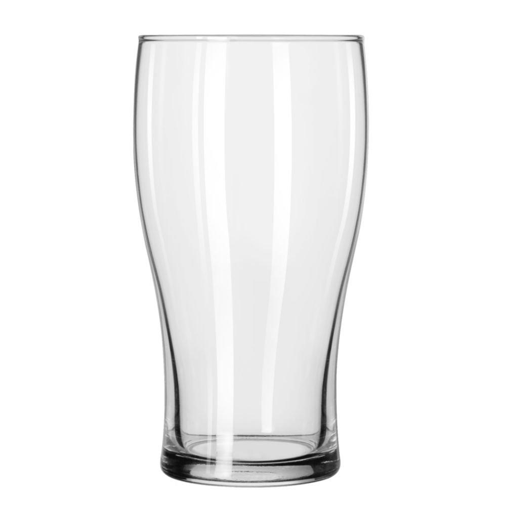 Libbey 4808 Clear 16 Ounce Pub Glass - 24 / CS