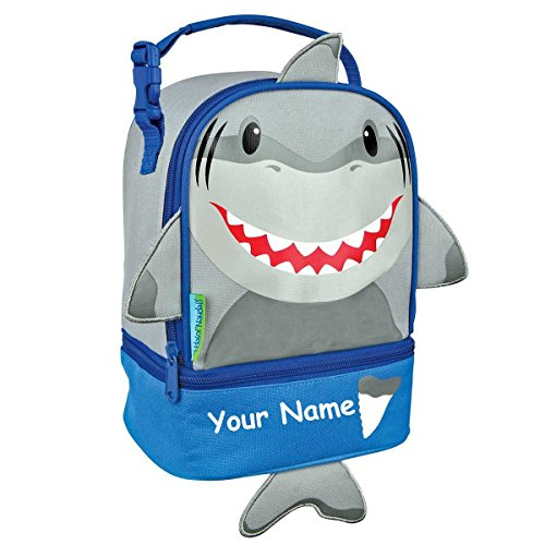 - Stephen Joseph Personalized Shark Lunch Pals Lunch Box Bag