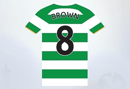 uk availability b8f2e 9f093 Celtic Football Club Shirt Wall Sticker Official Merchandise - Decal  Football Vinyl Poster Print (60cm)