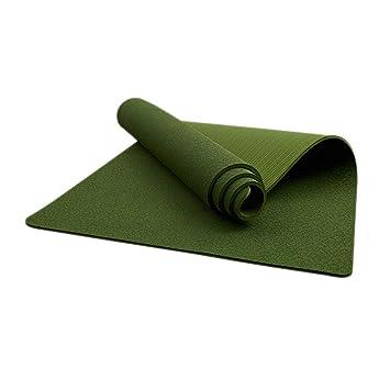 Estera de Yoga Material Verde Antideslizante Engrosamiento ...