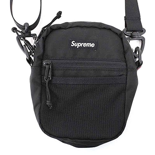 (シュプリーム) SUPREME 【17SS】【Small Shoulder Bag】ボックスロゴナイロンショルダーバッグ(ブラック) 中古 B07DXVM5F5