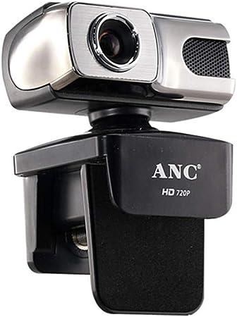 Aingol Webcam HD 720P 12 Mega USB Web CAM Libre Unidad Smart TV Escritorio PC Ordenador Video portátil cámara Noche con micrófono: Amazon.es: Hogar
