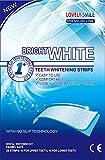 Lovely Smile Premium Line 28 Teeth Whitening Strips Kit with Non-Slip Tech