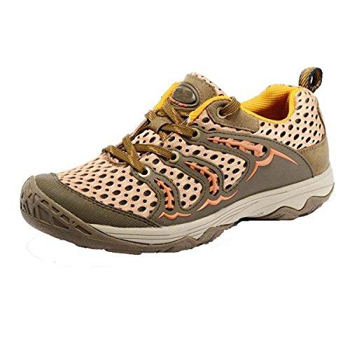 CHT Zapatos De Primavera Y Otoño De Senderismo Al Aire Libre Masculina Red Multicolor De Carga De Tamaño Brown