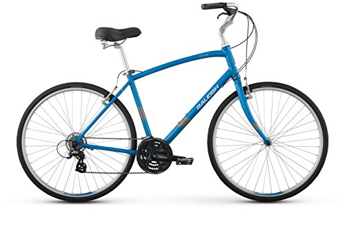 "Raleigh Bikes Detour 3 Comfort Bike, Blue, 19""/Large"
