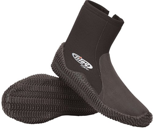Tilos 7mm Titanium Puncture Resistant Tall Zip Boot