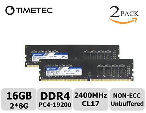 Timetec Hynix IC 16GB KIT DDR4 2400MHz PC4-19200 Non ECC Unb