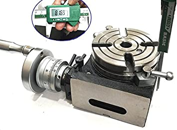 HV4-110 MM HORIZONTAL VERTICAL ROTARY TABLE FOR MILLING MACHINE