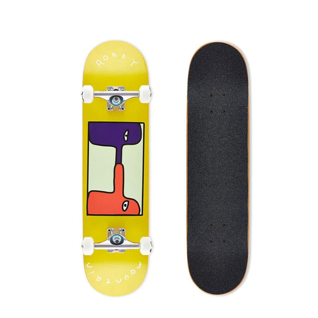 【即発送可能】 Weiyue スケートボード- (色 プロのダブルスケートボード4ラウンド大人の男の子と女の子初心者子供ブラシストリートスケートボード B07M839529 (色 : E, サイズ さいず : 80X19X10cm) 80X19X10cm) B07M839529 80X19X10cm|B B 80X19X10cm, YIZUMI伊泉:c62df327 --- a0267596.xsph.ru