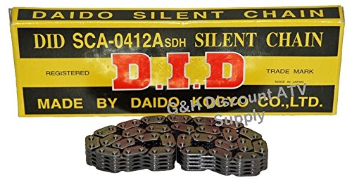 (QUALITY SCA0409X110L D.I.D Engine Timing Cam Chain for 1988-2000 Honda TRX 300 2x4 4x4 Fourtrax )