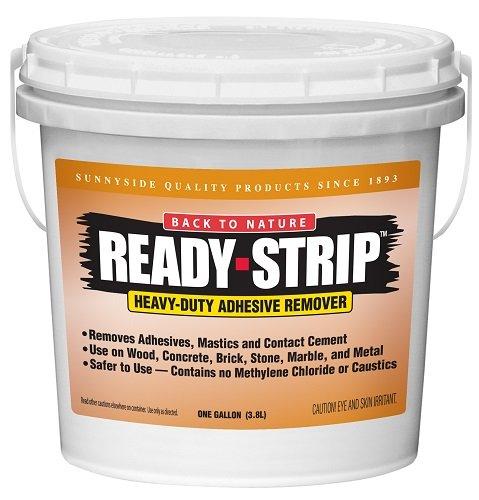 Back to Nature Ready-Strip Mastic Remover, Gallon, 678G1 (Brick Stone Veneer Over)