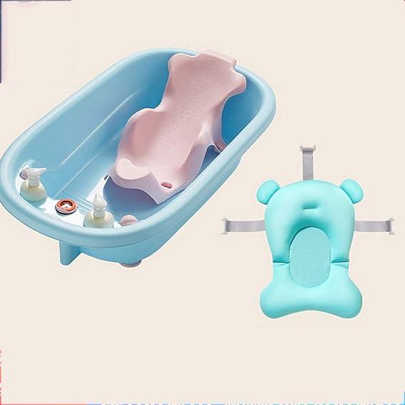 Bañera Plegable para niños, bañera para niños, bañera para bebés, bañera para bebés, Red, recién Nacido, baño Grande, Puede Sentarse, mentir, bañarse, ...