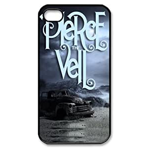 Custom Pierce The Veil Hard Back Cover Case for iPhone 4/4s OR-508
