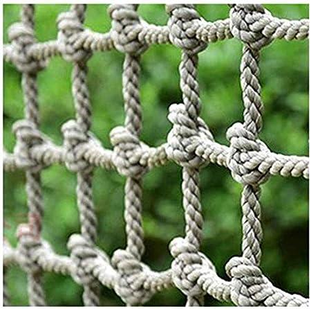 Safety net decoration / Escalada red de carga Escalera de cuerda valla de seguridad Net Red de Altas Prestaciones de seguridad Balcón barandilla de protección de escalera de malla de cuadrícula juegos: