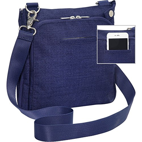 Brushed eBags Indigo RFID Crossbody Graphite Brushed with 0 Villa 2 Security nF4wq70T