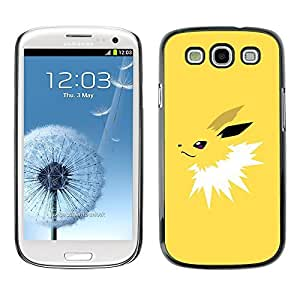 GagaDesign Phone Accessories: Hard Case Cover for Samsung Galaxy S3 - Yellow Poke