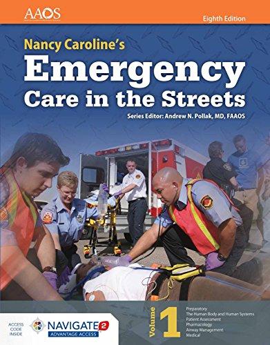 Nancy Caroline's Emergency Care in the Streets (Orange Book), Volume 1