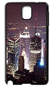 Back Case Durable Night at the Empire State Building in New York Case For Samsung Galaxy Note3 N9000