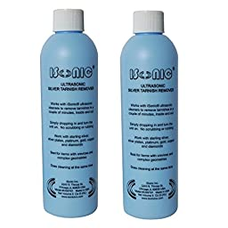 iSonic CSST01-8OZx2 Ultrasonic Silver Tarnish Remover (Pack of 2)