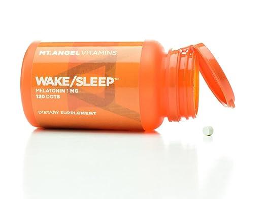 Amazon.com: Mt. Angel Vitamins - Wake/Sleep Dots, Melatonin 1 MG (120 Dots): Health & Personal Care