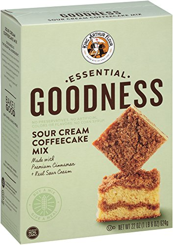 King Arthur Flour Essential Goodness Mix, Sour Cream Coffeecake, 22 Ounce (Pack of (Sour Cream Muffins)