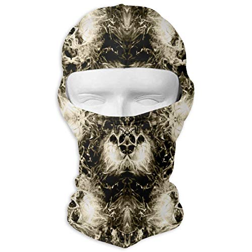 O-X_X-O Ideal Gift Flaming Clouds Skulls Balaclava Full Face Mask Motorcycle Helmet Liner Breathable Multipurpose Outdoor Sports Wind Proof Dust Head Hood]()