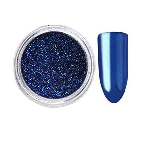 Oksale® Women DIY Mirror Powder Effect Chrome Nails Pigment