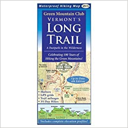 Mountain Green Vermont\'s Long Trail: Map: 9781888021325: Amazon.com ...